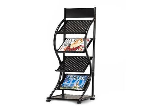 Perforated Metal Shelf Amp Display Rack For Commercial And