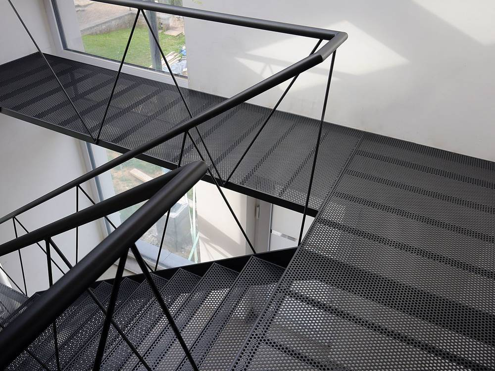Perforated Metal For Floor And Stair Tread