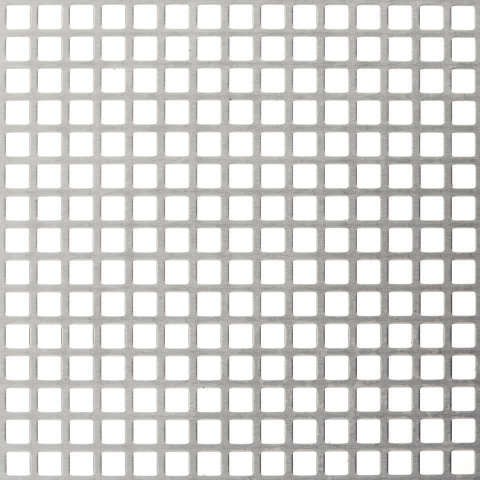 Square Hole Perforated Mesh For Filtering Screening And